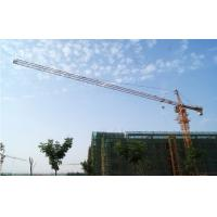 6ton Potain Tower Crane with 55m Height Under Hook , 1.3ton Tip Load Tower Crane 5013 Manufactures