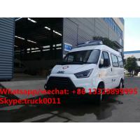 HOT SALE! 2017s new lowest price JMC 4*2 LHD diesel smaller transporting ambulance for sale, smallest diesel ambulance Manufactures