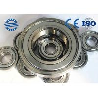 China High Precision Ball Bearings , Miniature Ball Bearings 6005Z For Bearing Radial Load on sale