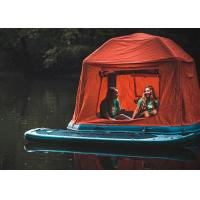 China PVC Inflatable Shoalwater Pool Tent Inflatable Floating Tent On Lake on sale