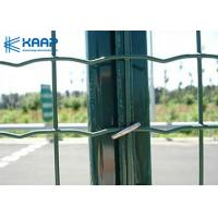 4'' X 2'' Welded Wire Fence Panels , Stainless Steel Wire Mesh Panels Garden Applied