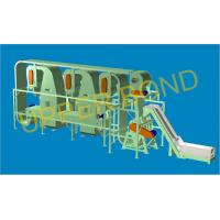 Cigarette Production Tobacco Threshing Machine , Horizontal Type With PLC Manufactures