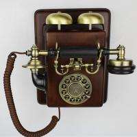China Vintage phone appareil Antique wall mounting set telephone fashion wall hanging wall on sale