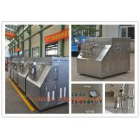 Professional High Performance Two Stage Food Homogenizer Equipment Manufactures