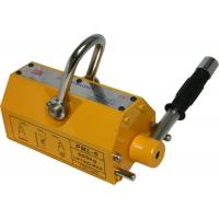 Quality Manual Magnetic Lifter of Yellow Color  with Safety Factory 2.5:1, Magnetic Steel  150kg - 3200kg for sale