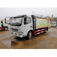 5t Garbage Collection Truck Dongfeng 4X2 120hp For Garbage Transporation Manufactures