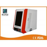Coated Enclosed Metal Laser Engraving Machine 7000 Mm/S For Carving Etching Manufactures