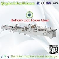 China Automatic Pre-Fold Lock-Bottom Carton Folder Gluer Machine (Sticking) on sale