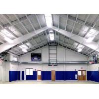 H Section Gable Frame Lightweight Metal Frame Structure With Insulated Panels Manufactures