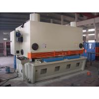 Foot Operated Guillotine For Metal Cutting , Mechanical Guillotine Shear