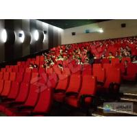 Futuristic Vibration Sound 4D Cinema System With Electric Motion SV Chair Manufactures