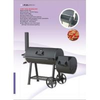 Buy cheap Professional Stationary Big Size Charcoal BBQ Grill from wholesalers