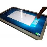 Full HD 55 Inch Wall Mounted Interactive All In One Touchscreen PC I3 Processor Manufactures