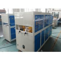 China Fully Automatic 380V 50HZ Plastic PVC Profile Extrusion Line Twin Screw Extrusion Machine on sale