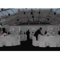 Clear Roof Waterproof Festival Tent With Lighting System Outdoor Temporary 20 by 25 m Manufactures