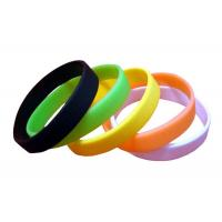 Quality Assorted Color Custom Rubber Wrist Bands Design Your Own Silicone Bracelet for sale