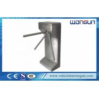 Access Control Mechanical Turnstile Barrier Gate For SuperMarket Manufactures