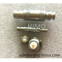 self-locking lemo S series coaxial cable connector plug and socket Manufactures