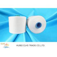 China 60/3 Raw White 100% Virgin Polyester Spun Yarn With Dyeing Tube,1.25kg / Cone on sale