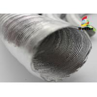 Quality Aluminum Foil Auto Air Duct Hose Lightweight Paper Craft Protective Round Bellows for sale