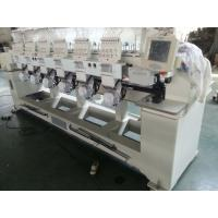 6 Heads Tubular Embroidery Machine For Backpacks / Sweat Suits Manufactures
