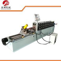 China Light Gauge Steel Stud Roll Forming Machine / C Purlin Forming Machine For Roof Truss on sale