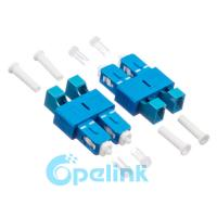 Duplex Plug In Fiber Optic Adapter Singlemode High Precision Alignment Manufactures