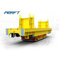 Electric flat Industrial Transfer Trolley with solid rubber wheels for shunting and moving goods Manufactures