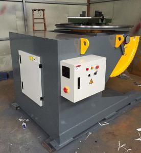 T - Slots Manual Welding Positioners, 500 Diameter Welding Chuck Welding Positioner Turntable Manufactures