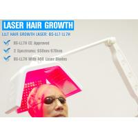 China Comfortable Painless Diode Laser Hair Regrowth Treatment Machine Handheld on sale