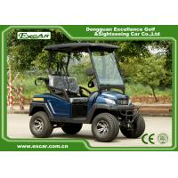 4 Wheel Electric Hunting Golf Carts 48V PP Plastic Cowl Electric Hunting Buggy Manufactures