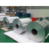 Silver Raw Material Aluminum Coil Roll Cold Rolling Temper O - H112 Manufactures
