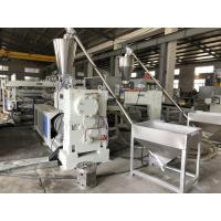 Quality High Hardness PVC Celuka Foam Board Machine 400kg/H Capacity 180kw Installed Power for sale