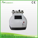 Portable 4 handles cavitation RF Vaccum body shaping slimming machine Manufactures