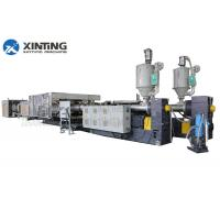 China Double Wall Corrugated PVCPipe Manufacturing MachineWith Two Single - Screw Extruder on sale