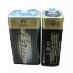 6LR61 9V 1-piece Shrink Pack Alkaline Battery, No Leak and Exploration Manufactures