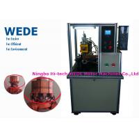 Failure Monitoring Armature Welding Machine Single Head Hotstackng With Cooling System Manufactures