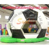 Football Soccer Inflatable Bouncy Castle For Inflatable Sport Games Manufactures
