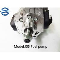 J05 Engine Electric Injection Fuel Pump For Excavator Silver Color Manufactures