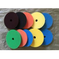 180mm Hook Loop Polishing Pad , Sheepskin Buffing Pads For Glass Products Manufactures