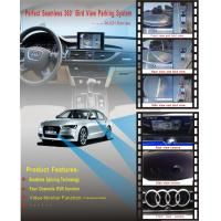 High Definition Car Reverse Parking System Security With Seamless 360 Degree Panoramic For Audi Manufactures