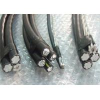 PVC / PE / XLPE Insulation ABC Power Cable Triplex Conductor For Overhead Transmission Manufactures