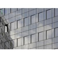 Wind Pressure Thermal Break Aluminium Curtain Wall With High heat Resistance Manufactures