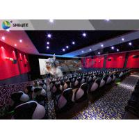 Electric 4D Cinema System Customized Seat / Professional 3D Glasses 4d Cinema Manufactures