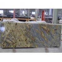 Quality Tiger Yellow Granite Kitchen Countertops For Commercial / Residencial for sale