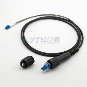 Flame Retardant Optical Fiber Cable Assembly Pdlc/Dlc Gyfjh 2 Core Outdoor Soft