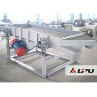 China 1 - 4 Sieve Layer Linear Vibrating Screen Machine for Sand Ore Grading And Selecting on sale