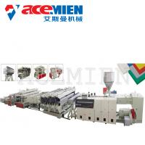 PVC Free Foam Sheet Foam Plate Making Machine 10-20T For Mounted Panels Manufactures