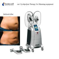 4D Body Slimming Machine Freezing Fat 360 Surround Cooling 4 Handles Cryolipolysis Manufactures