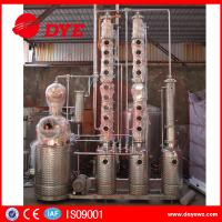 Used Micro Copper Moonshine Still Copper Alcohol Distiller 3mm Thickness Manufactures